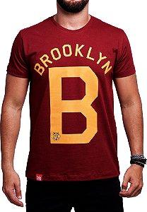 Camiseta Adrenalina Brooklyn Bordo