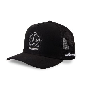 Boné Trucker Adrenalina Black