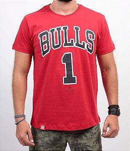 Camiseta Adrenalina Bulls Vermelha