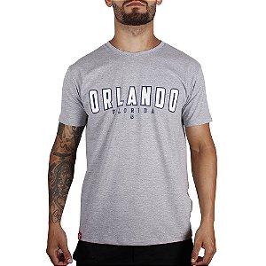 Camiseta Adrenalina Orlando - Cinza Mescla