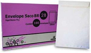 ENVELOPE SACO BR28 200X280MM C/100