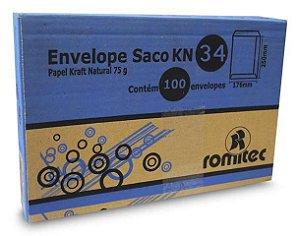 ENVELOPE SACO KFT34 240X340MM C/100