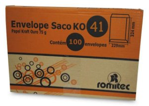 ENVELOPE SACO KR41 310X410MM C/100