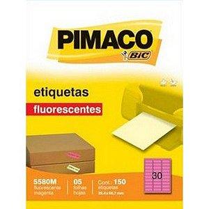 ETIQUETA LASER C/05 25,4X66, MAG 5580M PIMACO