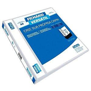 PASTA FICHARIO VERSATIL A4 BR 265X310MM 4ARG LOMB6CM