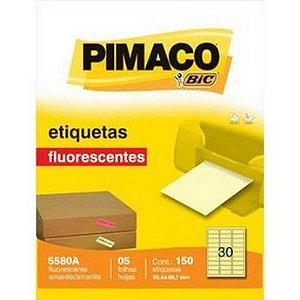 ETIQUETA LASER C/05 25,4X66 AM 5580A PIMACO
