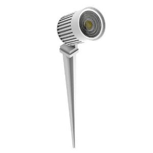 ESPETO PROJETOR SOLO FINCO IP66  LED 6W 2700K 3026-S INTERLIGHT
