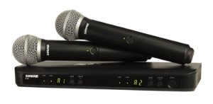 Kit Microfone sem Fio BLX288/PG58
