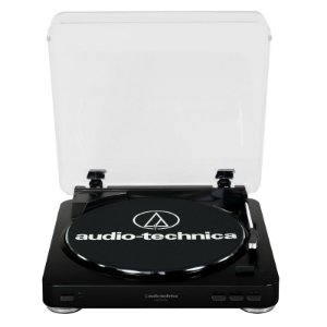 Toca-Discos Audio-Technica LP60 USB Com Sistema de conversão de LP Preto