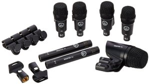 kit  de bateria  akg  drumn  session 1