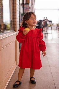 Vestido Sofia Vermelho