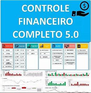 Controle Financeiro Completo Fluxo De Caixa Dre E Dashboards