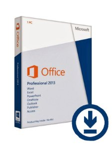 MICROSOFT OFFICE PROFESSIONAL 2013 – 32 / 64 BITS ESD – (DOWNLOAD)
