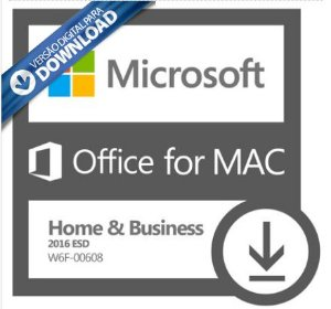 MICROSOFT OFFICE HOME & BUSINESS 2016 PARA MAC – 32 / 64 BITS – ESD