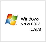 50 (cals) Ts para Dispositivo  - Windows Server 2008