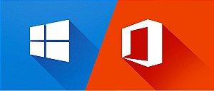 Windows 10 Home e Office 365 (2016) 5 Pc Ou Mac - Onedrive 1tb Skype 60m 1 Ano - ESD