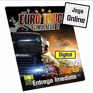 Euro Truck Simulator 2 - Pc Jogo Original - Digital Código