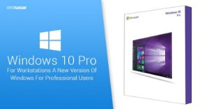 SISTEMA OPERACIONAL MICROSOFT WINDOWS 10 PRO FOR WORKSTATIONS – 32 / 64 BITS – (DOWNLOAD)