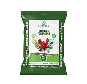 Substrato Composto para Flores e Folhagens - 3 kg