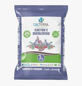Substrato Composto Premium Para Cactos e Suculentas - 3 kg