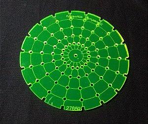 Régua Multiflores - cor verde