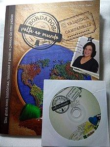 Livro Bordados Volta ao Mundo + DVD