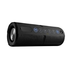Caixa De Som Waterproof Com Bluetooth Preta