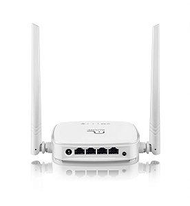 Roteador Wireless 300MBps 2.4GHz QoS WISP 2 Antenas 5dBi Multilaser