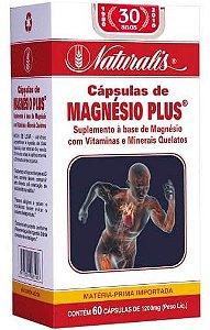 MAGNÉSIO PLUS® - 60 Cáps 1200mg