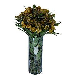 Assinatura de Flores Finas em Tubo