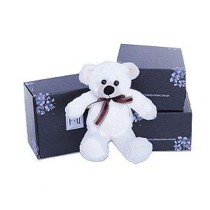 Urso Teddy Branco