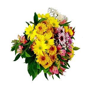 Buquê de flores do campo