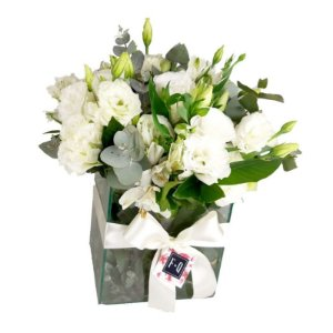 Bouquet Terrier de Lisiantus Branco