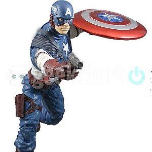 Action Figure Capitão América - Marvel Select
