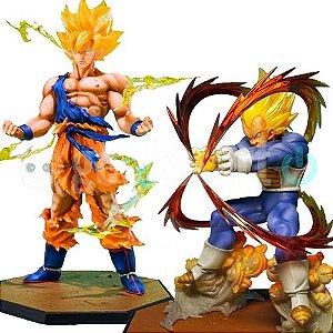 Estatueta Sayajin Dragon Ball Z