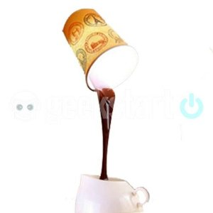 Luminária Copo de Café