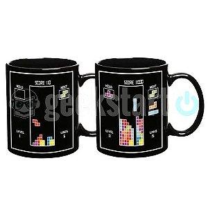 Caneca Termossensível Tetris