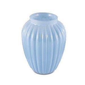 Vaso Romântico II Azul