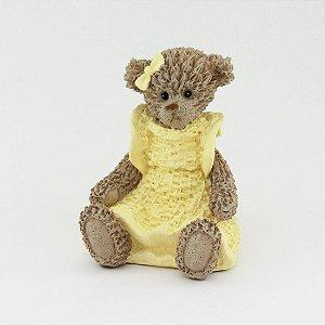 Ursinha de Resina - Amarela