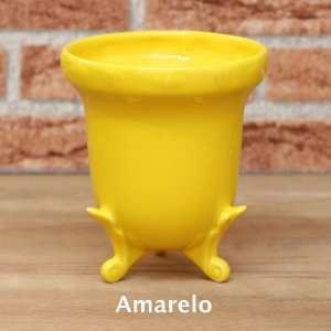 Vaso Realeza - Amarelo
