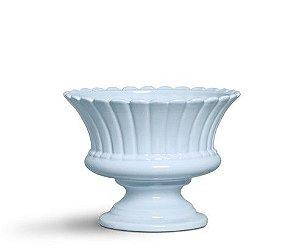 Vaso largo azul algodão doce