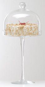 Boleira de Vidro com Redoma - 53 cm (Altura)