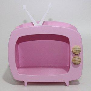 TV em Mdf - Rosa Bebê