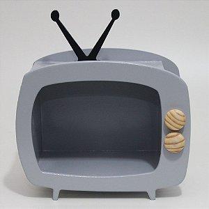 TV em Mdf - Cinza