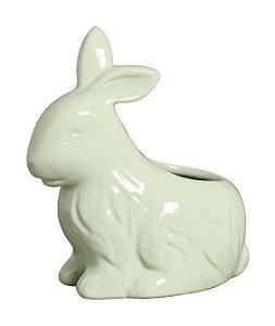 Vaso Coelho Sentado - Verde algodão doce
