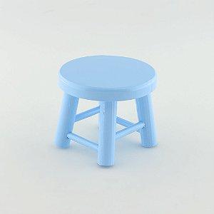 Banquinho de MDF P - Azul Claro