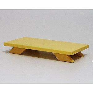 Bandeja Baixa em MDF - Amarelo