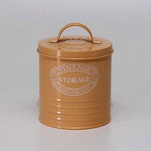 Lata Vintage Laranja