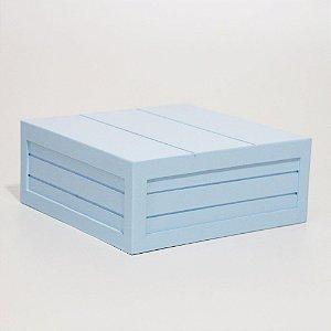 Caixa em MDF - Azul