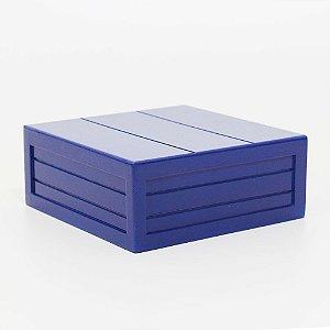 Caixa em MDF - Azul Bic